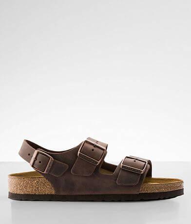 Birkenstock® Milano Oiled Leather Sandal