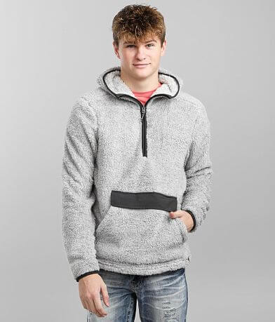 Liv Outdoor Hooded Sherpa Pullover
