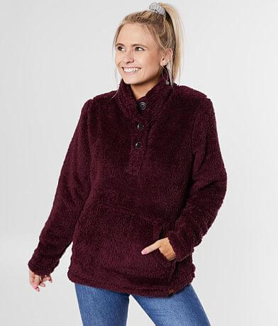 LIV Outdoor Para Sherpa Mock Neck Pullover