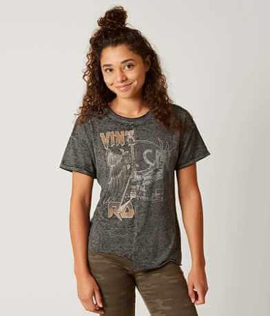 Modish Rebel Pieced T-Shirt