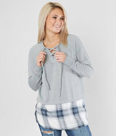 Daytrip Knit Fleece Sweatshirt