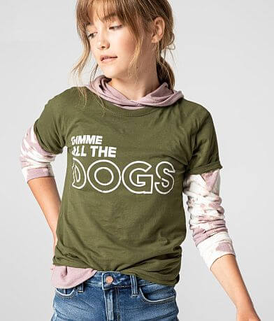 Girls - Daytrip Gimme All The Dogs T-Shirt
