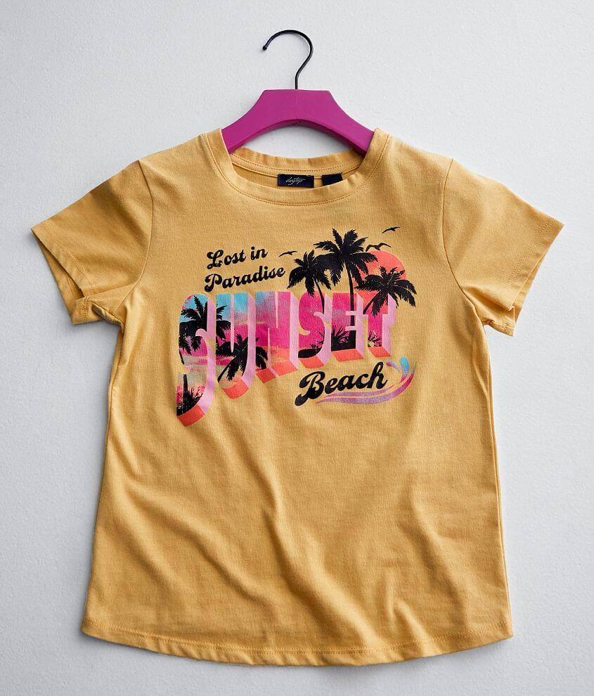 Girls - Daytrip Sunset Beach T-Shirt front view
