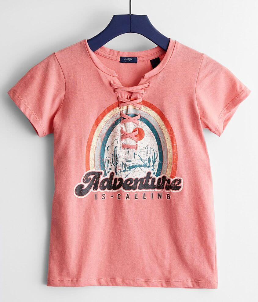 Girls - Daytrip Adventure Is Calling T-Shirt front view