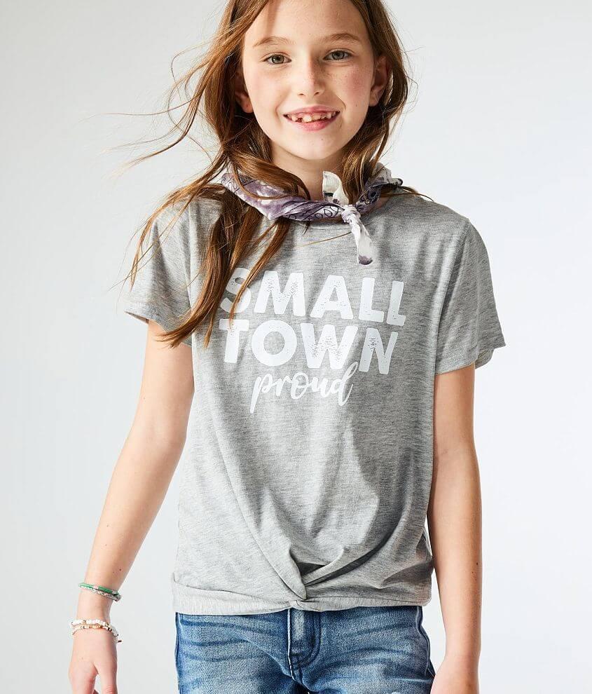 Girls - Modish Rebel Small Town Proud T-Shirt front view