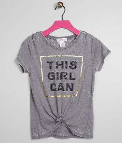 Girls - Kandy Kiss This Girl Can Burnout T-Shirt