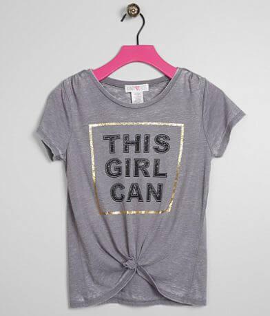 Girls - Kandy Kiss This Girl Can Burnout T-Shirt