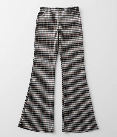 Girls - Gilded Intent Houndstooth Flare Pant