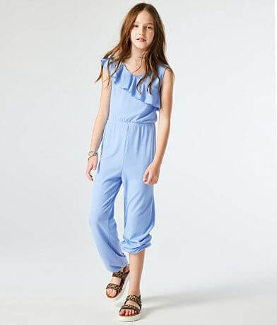 Girls - Daytrip Ribbed Knit Jumpsuit