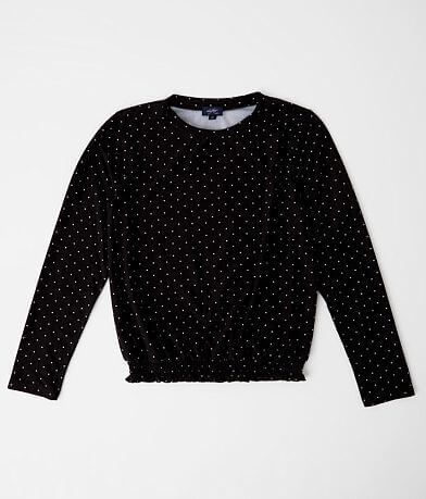 Girls - Daytrip Polka Dot Top