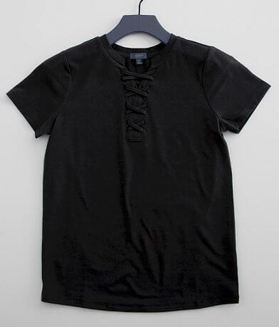 Girls - Daytrip Lace-Up T-Shirt