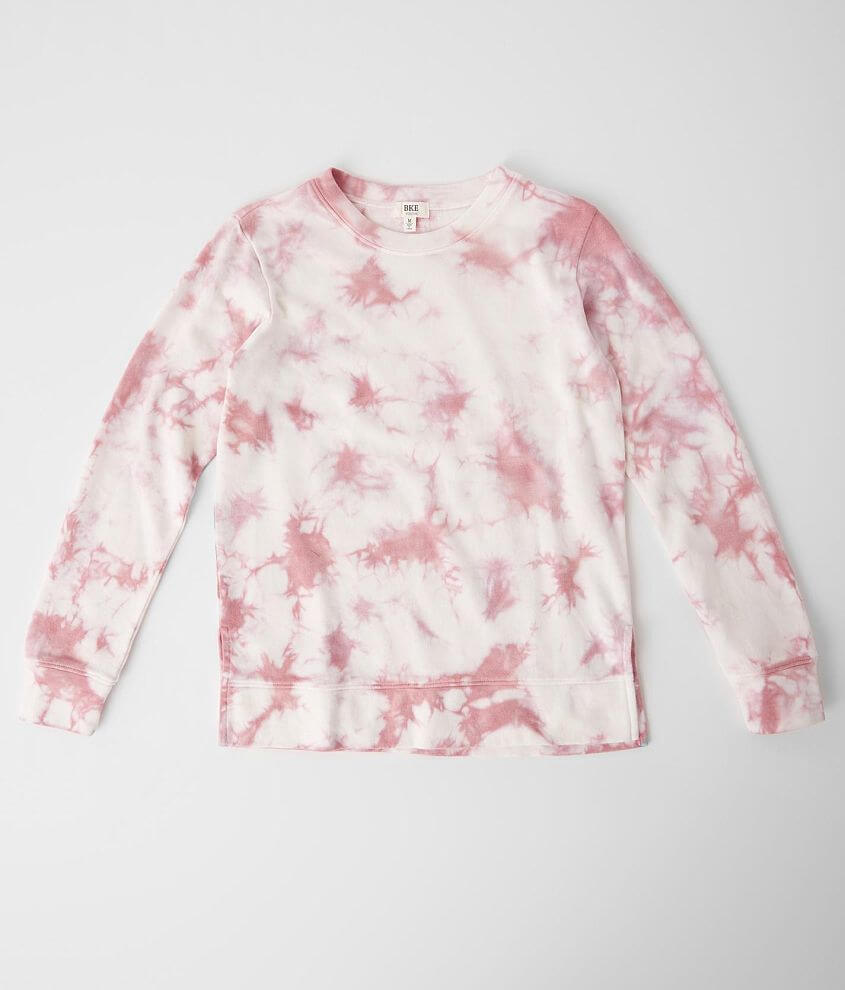 Girls - BKE Tie Dye Pullover front view