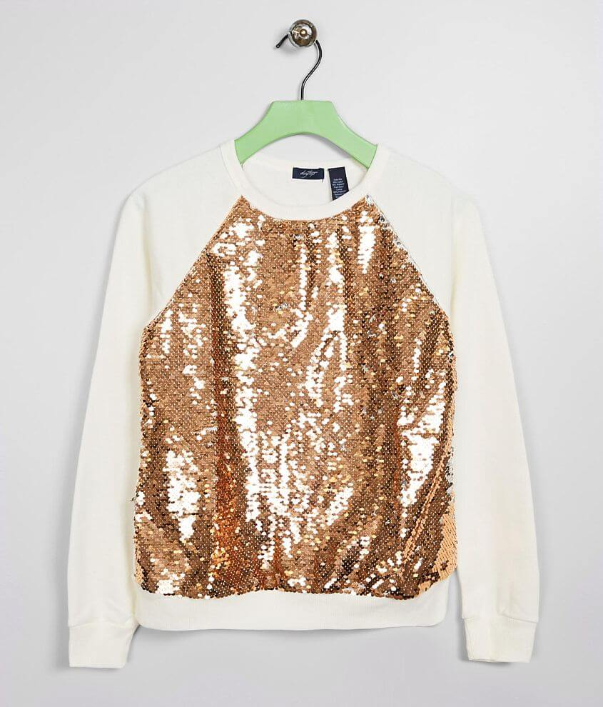 Girls - Daytrip Sequin Pullover front view