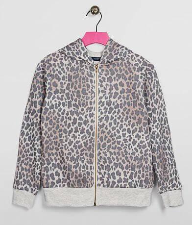 Girls - Daytrip Cheetah Hoodie