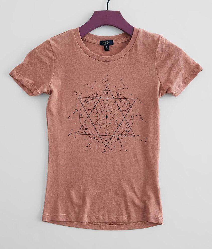 Girls - Daytrip Astrology T-Shirt front view