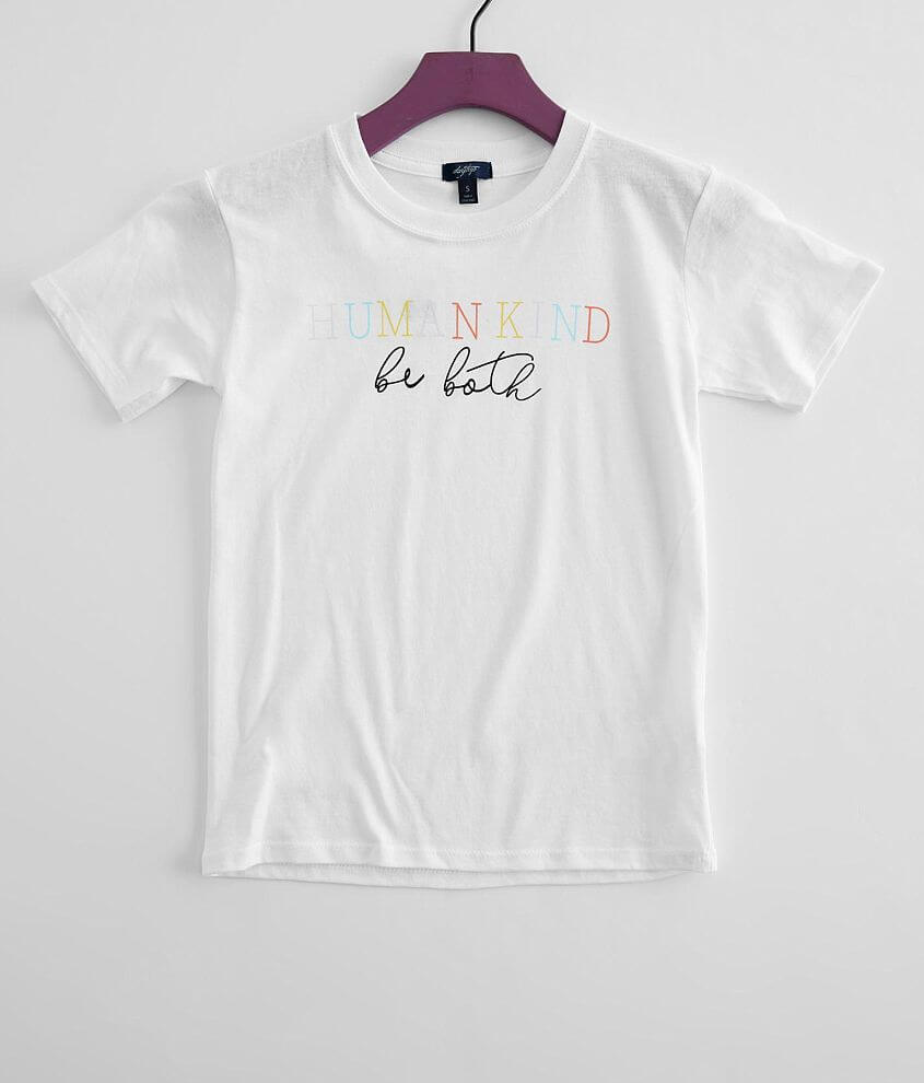 Girls - Daytrip Human Kind Be Both T-Shirt front view