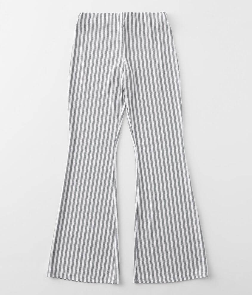 Girls - Daytrip Striped Stretch Flare Pant front view