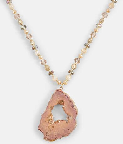BKE Semi-Precious Stone Necklace