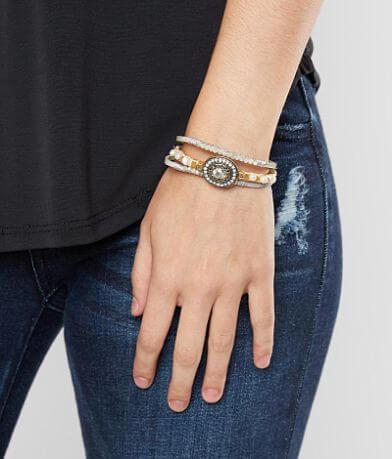 BKE Beaded Glitz Bracelet