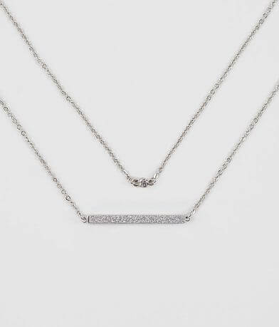 BKE Dainty Glitz Necklace Set