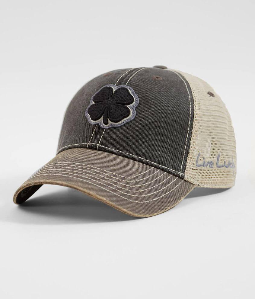 Black Clover Vintage  6 Trucker Hat - Men s Hats in Black Grey  07815877a47