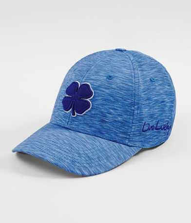 Black Clover Lucky Heather Blue Stretch Hat