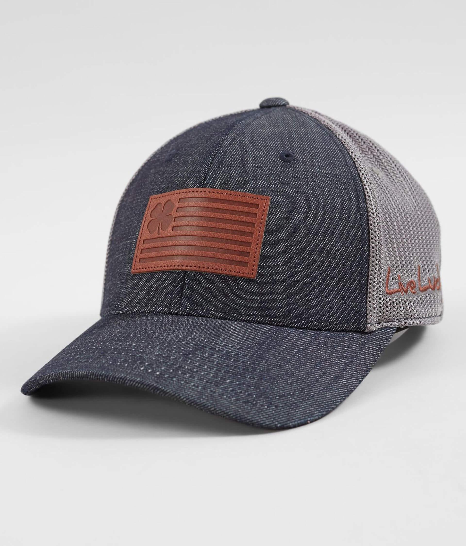 c172aa465 Black Clover National Flexfit Trucker Hat - Men's Hats in Navy | Buckle