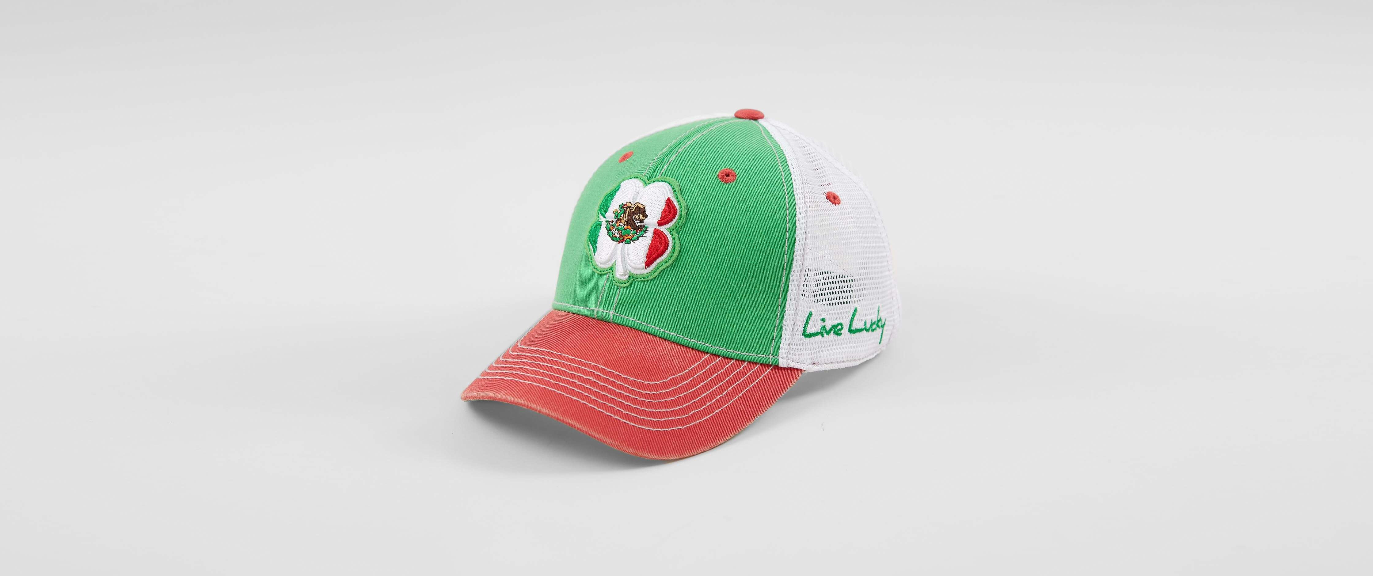 bc61068ab6d Black Clover Vintage Mexico Flag Trucker Hat