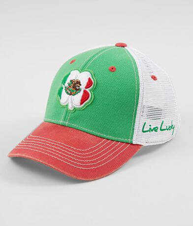 Black Clover Vintage Mexico Flag Trucker Hat
