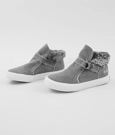 Girls - Blowfish Mint High Top Canvas Shoe