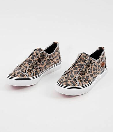 Girls - Blowfish Play Leopard Canvas Shoe