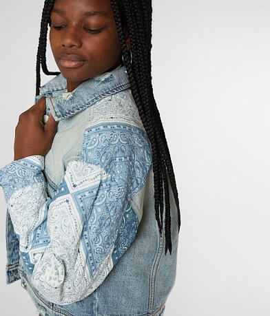 Blank NYC Pieced Denim Jacket