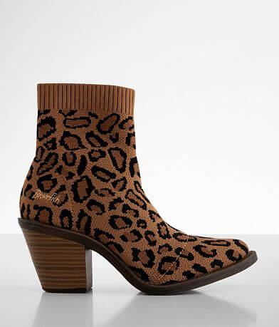 Blowfish Lukey Cheetah Print Ankle Boot