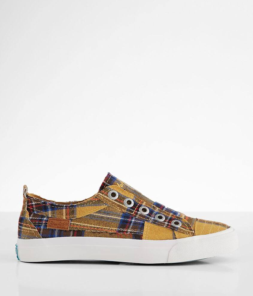 Blowfish Play Plaid Sneaker front view