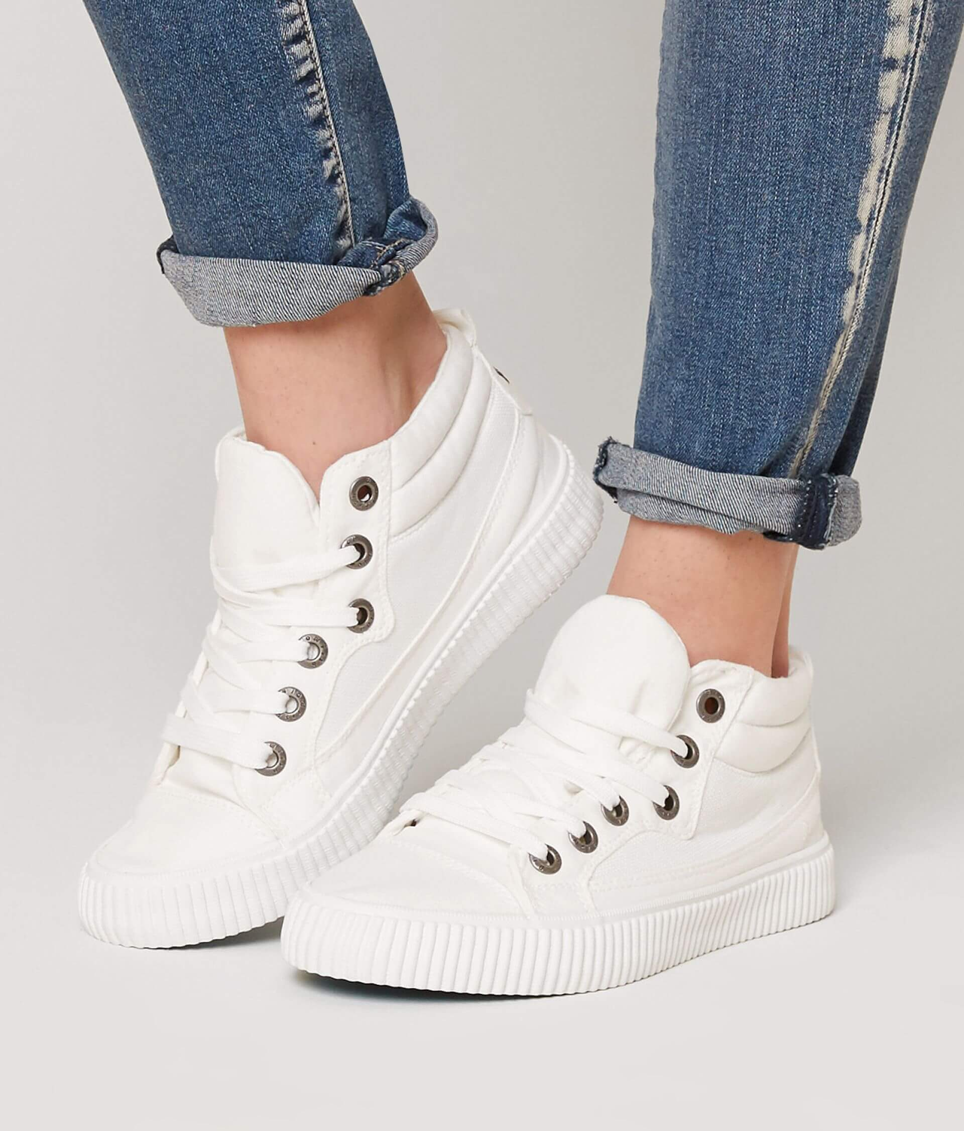 ff9a4cb4f90 Blowfish Crawl Shoe - Women s Shoes in White Washed Canvas Mesh