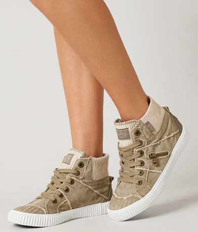 Blowfish High Top Ribbed Shoe