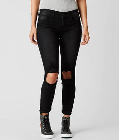 Sneak Peek Mid-Rise Sexy Boyfriend Stretch Jean