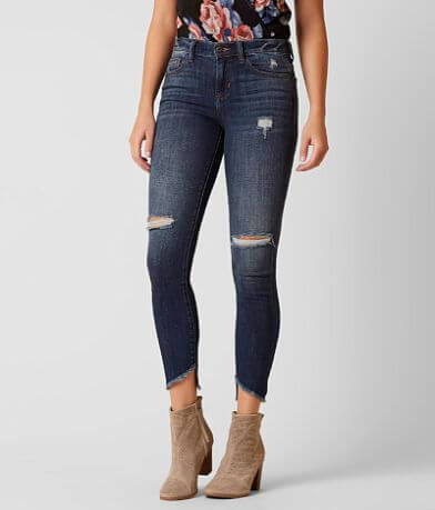 Sneak Peek Mid-Rise Skinny Stretch Jean