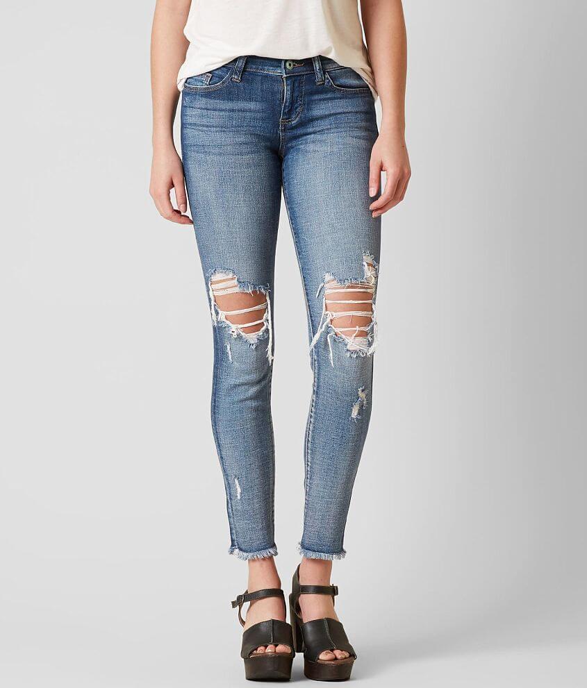 9ef5d81d47c Sneak Peek Low Rise Skinny Stretch Jean - Women's Jeans in Medium ...