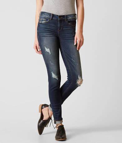 Sneak Peek Mid-Rise Skinny Stretch Jean