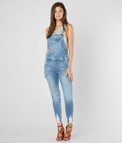 Sneak Peek Skinny Stretch Overalls