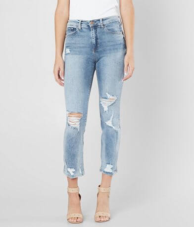 Sneak Peek High Rise Ankle Skinny Stretch Jean