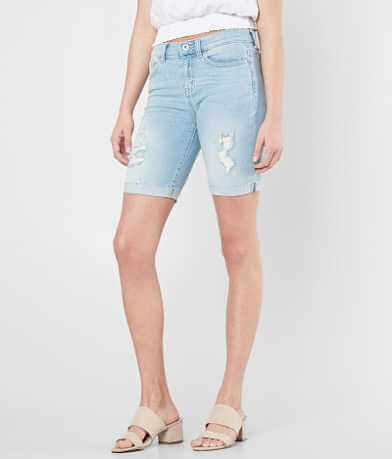 Sneak Peek Mid-Rise Stretch Bermuda Short