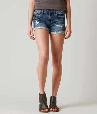 Sneak Peek Mid-Rise Stretch Cuffed Short