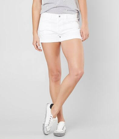 Sneak Peek Sexy Boyfriend Stretch Cuffed Short