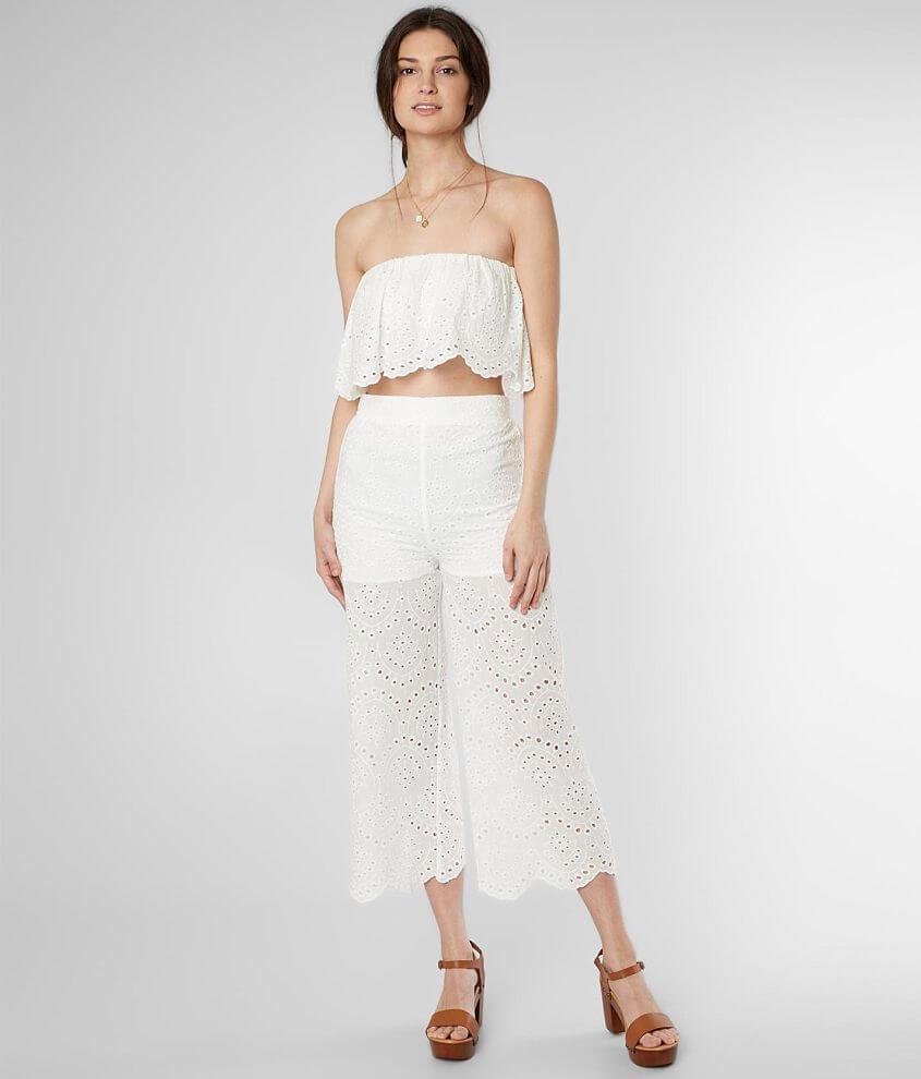 b021bb222c96 All White Romper Jumpsuit Shorts