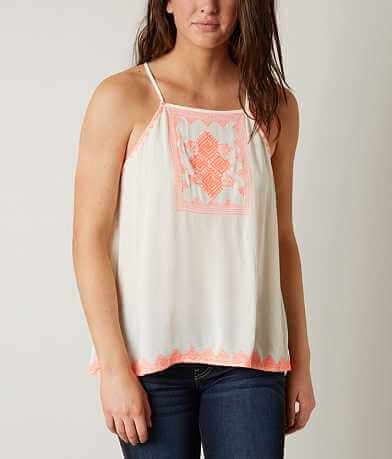 Blu Pepper Embroidered Tank Top