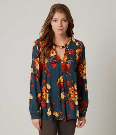 Blu Pepper Floral Top