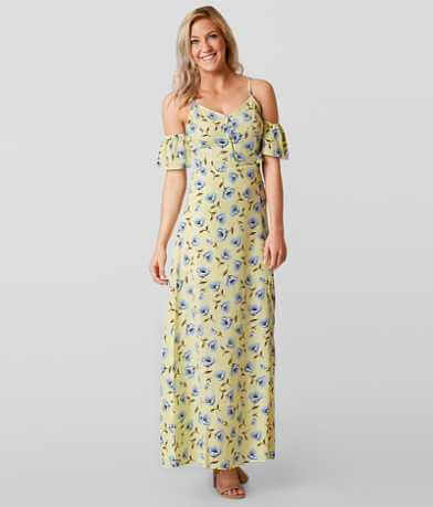 Blu Pepper Floral Maxi Dress