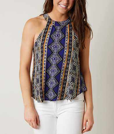Sweet Wanderer Printed Tank Top